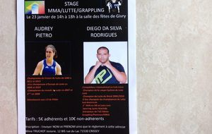 Stage exceptionnel lutte,MMA, grappling
